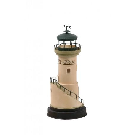 Fém mécsestartó Men-Brial világítótorony Mécsestartó