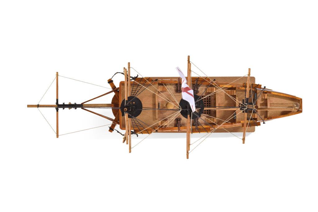 1. lépés Galleon hajómakett építőkészlet Gyerek kitt