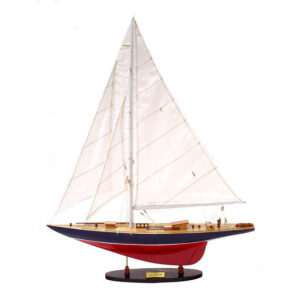 Réz vitorlás makett Vitorlás hajómakett