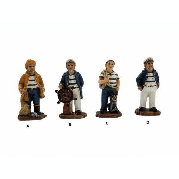 Tengerész figurák 5 cm Mókás figurák, szobrok