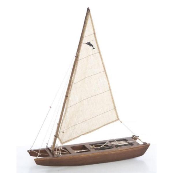 Katamarán Prada makett L42 Vitorlás hajómakett