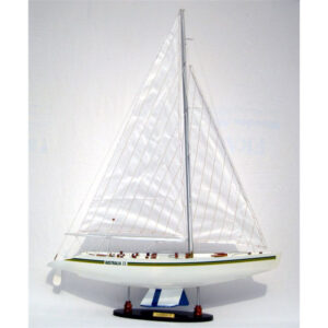 Australia II makett L70 Vitorlás hajómakett