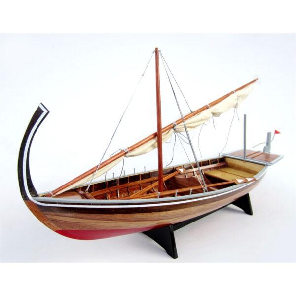 Dhoni makett L60 Kishajó, Csónak
