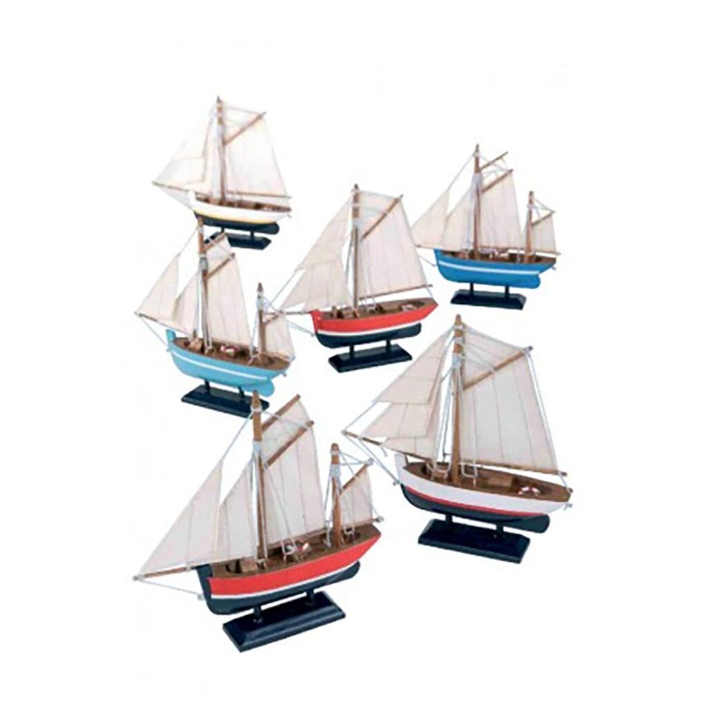 Vitorláshajó  L13 Szuvenír hajómakett
