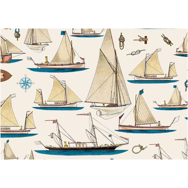 Csomagolópapír hajós 50 x 70 cm Csomagolópapír