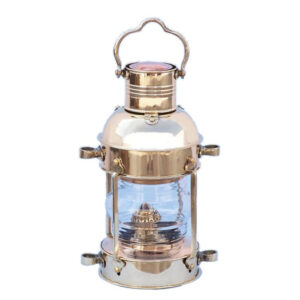 Olajlámpa réz 34 cm Lámpa