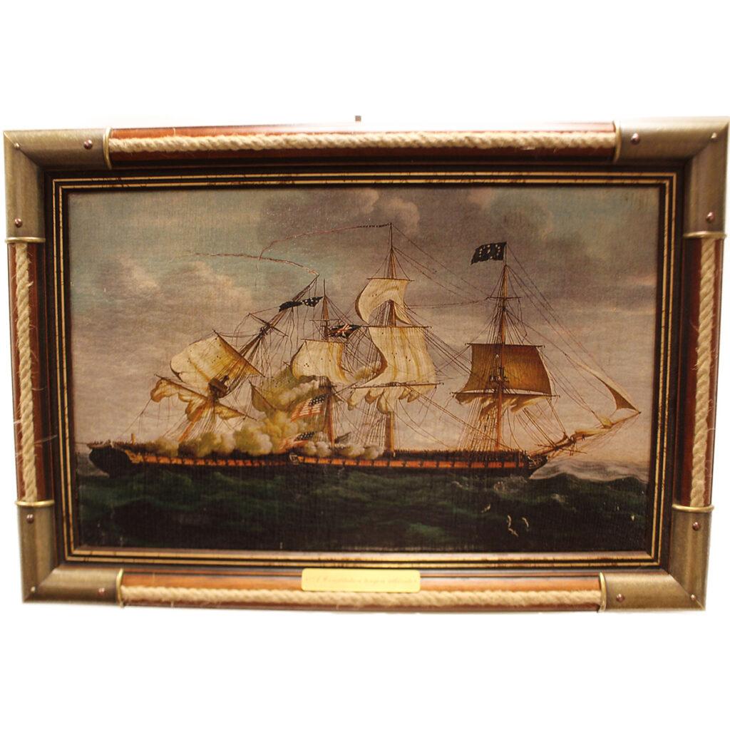 Festmény A Constitution tengeri ütközete Festmények, képek