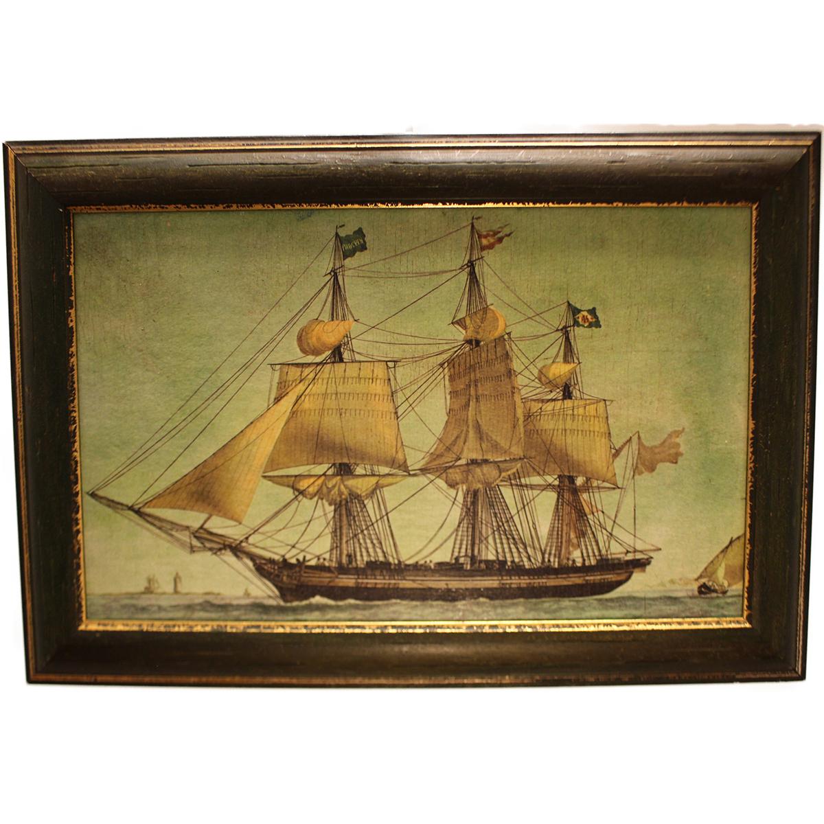 Festmény Nyílt tengeren Festmények, képek