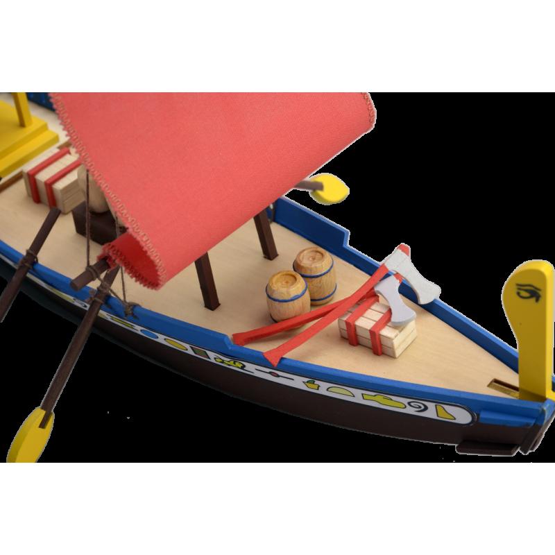 Egyiptomi hajómakett építőkészlet Gyerek kitt