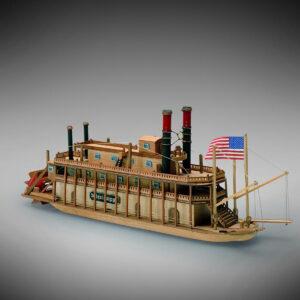 Katamarán hajómakett építőkészlet Gyerek kitt