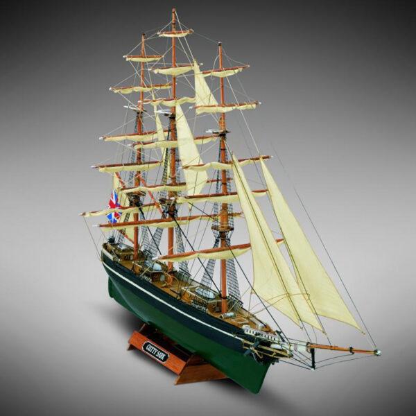 Cutty Sark hajómakett építőkészlet Gyerek kitt