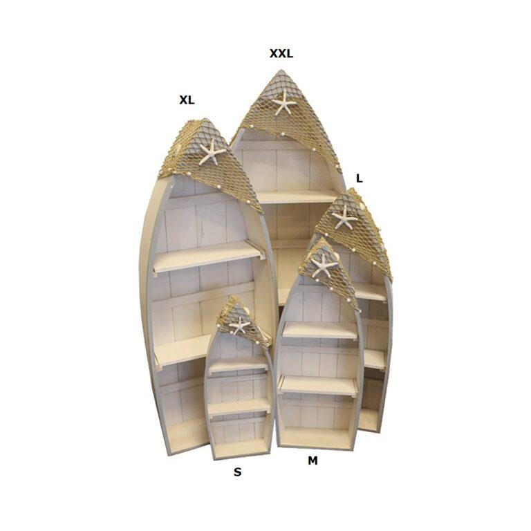 Csónak szekrény mahagóni 142 cm Szekrény