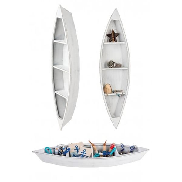 Csónak alakú polc vagy kínáló Szekrény