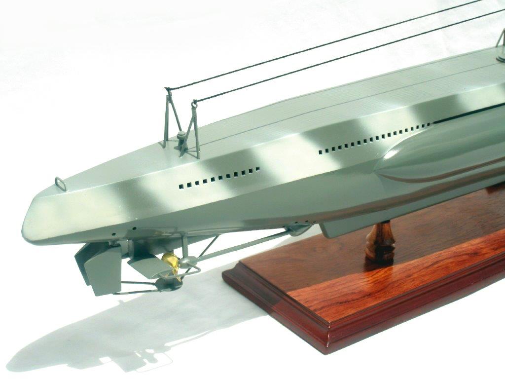 German U-Boat tengeralattjáró Történelmi makett